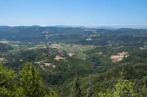 Mt St Helena View